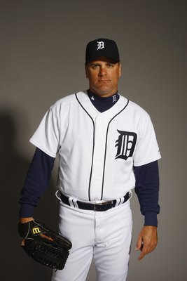 LAKELAND, FL - FEBRUARY 23:  Kenny Rogers of the Detroit Tigers poses for a portrait during Photo Day on February 23, 2008 at Joker Marchant Stadium in Lakeland, Florida. (Photo by: Nick Laham/Getty Images)