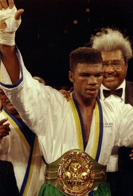 Julian Jackson was a fearsome foe for anyone in the middleweight division