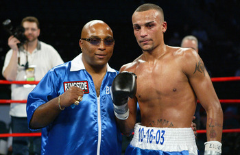 James McGirt Jr. stands alongside the father who looks set to eclipse his son's achievements in boxing