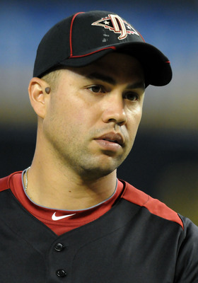 PHOENIX, AZ - JULY 12:  National League All-Star Carlos Beltran #15 of the New York Mets looks on during batting practice before the start of the 82nd MLB All-Star Game at Chase Field on July 12, 2011 in Phoenix, Arizona.  (Photo by Norm Hall/Getty Images