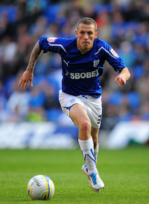 CARDIFF, WALES - MAY 02:  Cardiff player Craig Bellamy in action during the npower Championship game between Cardiff City and Middlesbrough at Cardiff City Stadium on May 2, 2011 in Cardiff, Wales.  (Photo by Stu Forster/Getty Images)