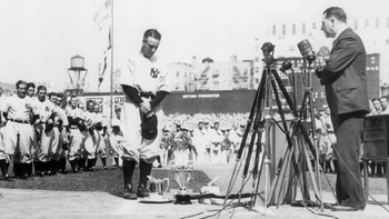 "Gehrig was an unbelievable talent, named the ""Iron Horse"" for his consecutive games streak. Photo courtesy of http://davelozo.files.wordpress.com/2010/08/loug2.jpg"