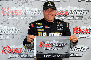 NASCAR's most recent pole winner Ryan Newman