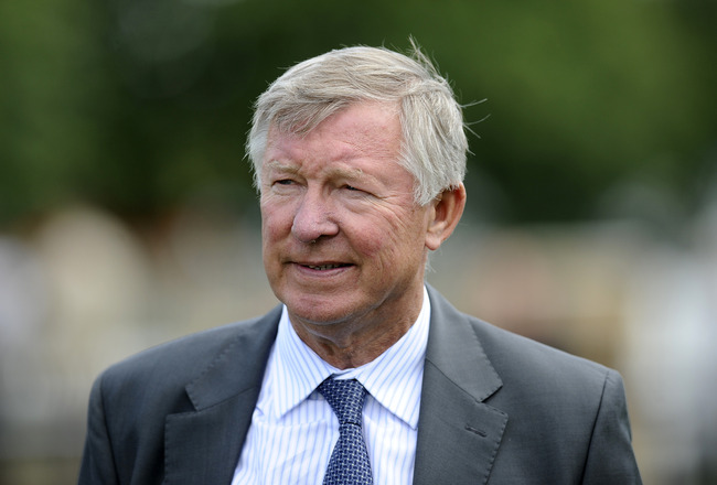 NEWMARKET, ENGLAND - JULY 08:  Sir Alex Ferguson at Newmarket racecourse on July 08, 2011 in Newmarket, England. (Photo by Alan Crowhurst/ Getty Images)