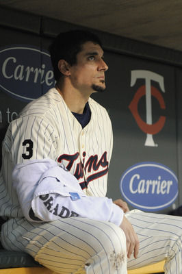 MINNEAPOLIS, MN - MAY 23: Carl Pavano #48 of the Minnesota Twins during their game against the Seattle Mariners on May 23, 2011 at Target Field in Minneapolis, Minnesota. The Rockies won 6-5. (Photo by Hannah Foslien/Getty Images)