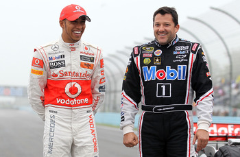 See NASCAR and Formula 1 can get along