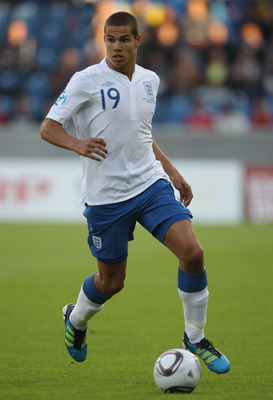 HERNING, DENMARK - JUNE 15:  Jack Rodwell of England during the UEFA European Under-21 Championship Group B match between Ukraine and England at the Herning Stadium on June 15, 2011 in Herning, Denmark.  (Photo by Ian Walton/Getty Images)