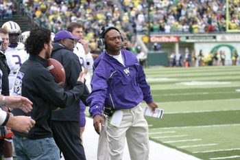 Former Washington coach Tyrone WIllingham