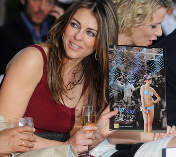 MONACO - MAY 22:  Actress Elizabeth Hurley attends the Amber Fashion Show and Auction held at the Meridien Beach Plaza on May 22, 2009 in Monte Carlo, Monaco.  (Photo by Pascal Le Segretain/Getty Images)