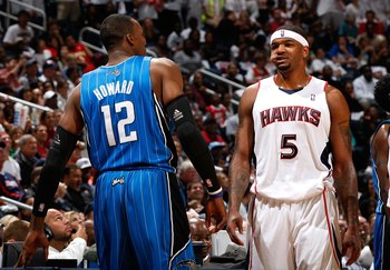 Dwight Howard and Josh Smith