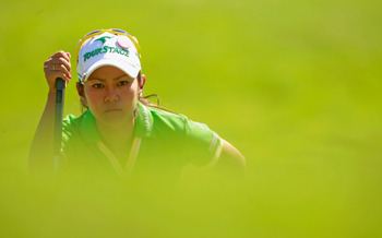 Miyazato's first LPGA win came at the 2009 Evian Masters