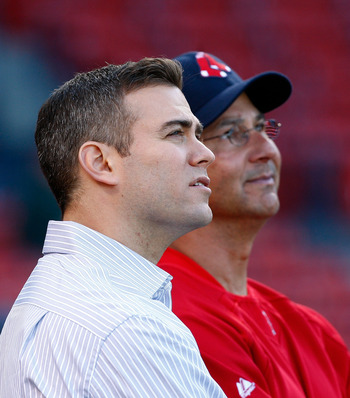 GM Theo Epstein and Manager Terry Francona