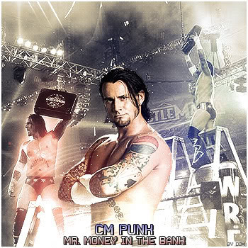 CM Punk as Mr. Money in the Bank