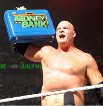 Kane as Mr. Money in the Bank