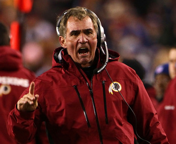 Mike Shanahan has his work cut out for him in Washington.