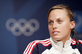 The Girl: Amanda Beard is an American swimmer and a seven-time Olympic ...