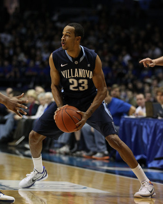ROSEMONT, IL - FEBRUARY 19: Dominic Cheek #23 of the Villanova Wildcats moves against the DePaul Blue Demons at the Allstate Arena on February 19, 2011 in Rosemont, Illinois. Villanova defeated DePaul 77-75 in overtime. (Photo by Jonathan Daniel/Getty Ima