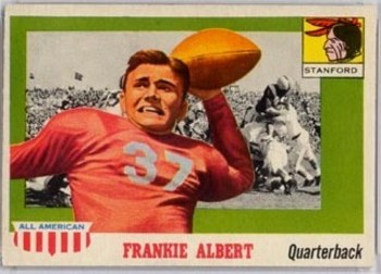 Frankie Albert heads our list of Honorable Mentions