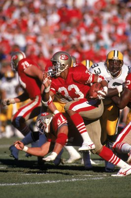 Roger Craig was a mainstay in the 49er backfield