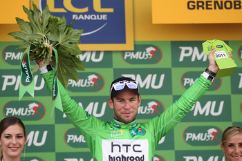 Cavendish didn't let the green jersey slip this year