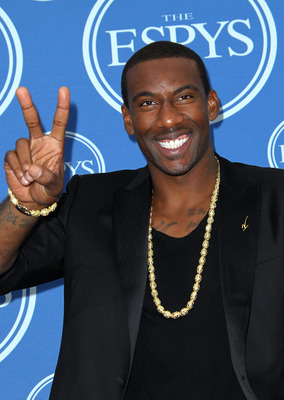 LOS ANGELES, CA - JULY 13:  NBA player Amar'e Stoudemire poses in the press room at The 2011 ESPY Awards at Nokia Theatre L.A. Live on July 13, 2011 in Los Angeles, California.  (Photo by Frederick M. Brown/Getty Images)