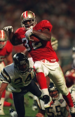 Ricky Watters brought excitement to the 49ers