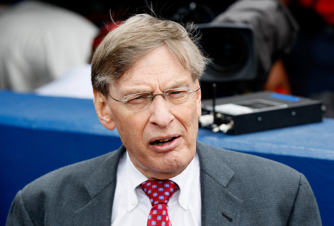 ATLANTA, GA - MAY 15:  MLB Commissioner Bud Selig before the MLB Civil Rights game between the Atlanta Braves and the Philadelphia Phillies at Turner Field on May 15, 2011 in Atlanta, Georgia.  (Photo by Kevin C. Cox/Getty Images)