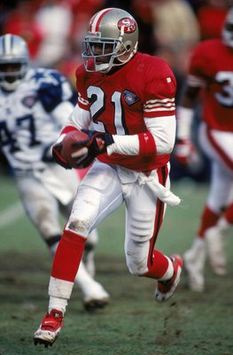 Deion Sanders had blazing speed