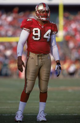 Charles Haley was a great pass rusher