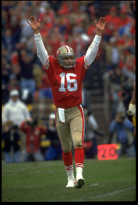 Joe Montana, touchdown 49ers!