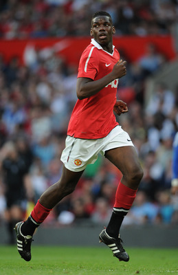 MANCHESTER, ENGLAND - APRIL 20: Paul Pogba of Manchester United in action during the FA Youth Cup Semi Final 2nd Leg between Manchester United and Chelsea at Old Trafford on April 20, 2011 in Manchester, England.  (Photo by Michael Regan/Getty Images)