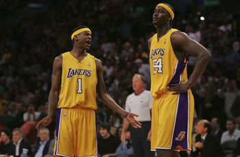 Smush Parker and Kwame Brown