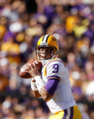 QB Jordan Jefferson, LSU