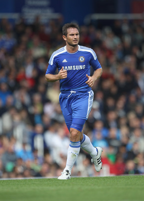 PORTSMOUTH, ENGLAND - JULY 16:  Frank Lampard of Chelsea during the Pre Season Friendly match between Portsmouth and Chelsea at Fratton Park on July 16, 2011 in Portsmouth, England.  (Photo by Tom Shaw/Getty Images)