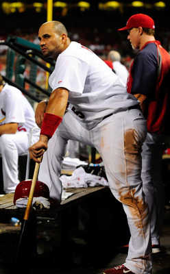 Pujols got back quickly, the Mets should try to get the Cards' medical staff.  THey should try to get Pujols too.
