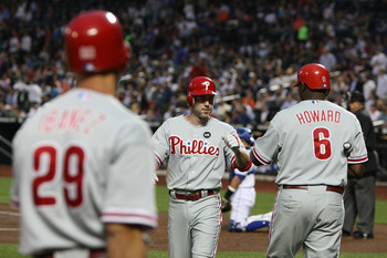 The Philadelphia Phillies are very left-handed.
