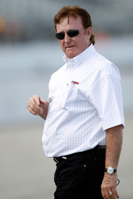 LOUDON, NH - JULY 15:  Team owner Richard Childress walks on the grid during qualifying for the NASCAR Sprint Cup Series LENOX Industrial Tools 301 at New Hampshire Motor Speedway on July 15, 2011 in Loudon, New Hampshire.  (Photo by Todd Warshaw/Getty Im