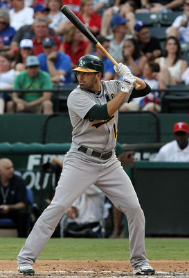 David DeJesus' first season in Oakland has not exactly gone according to plan.