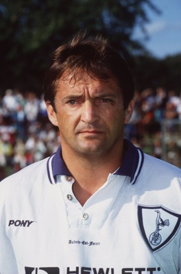 JUL 1995:  A PORTRAIT OF GARY MABBUTT THE TOTTENHAM HOTSPURS DEFENDER AT A FRIENDLY MATCH ON THEIR TOUR TO SCANDINAVIA. Mandatory Credit: Ben Radford/ALLSPORT