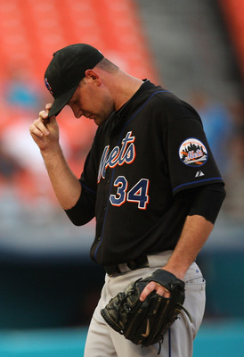 Mike Pelfrey has not shown the ability to be the ace of the Mets' staff this year.