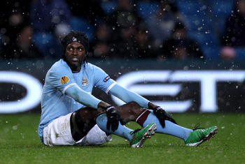 Adebayor in cooler temperaments
