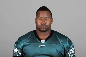 PHILADELPHIA - 2009:  Shawn Andrews of the Philadelphia Eagles poses for his 2009 NFL headshot at photo day in Philadelphia, Pennsylvania.  (Photo by NFL Photos)