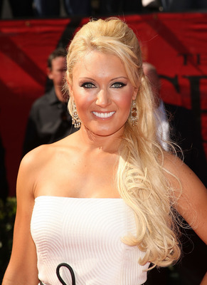 LOS ANGELES, CA - JULY 15:  Golfer Natalie Gulbis arrives at the 2009 ESPY Awards held at Nokia Theatre LA Live on July 15, 2009 in Los Angeles, California. The 17th annual ESPYs will air on Sunday, July 19 at 9PM ET on ESPN.  (Photo by Jason Merritt/Gett