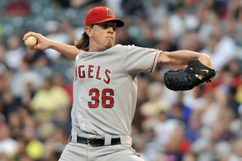 Jered Weaver threw a masterpiece, which isn't terribly surprising as of late.