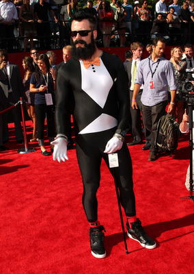LOS ANGELES, CA - JULY 13:  MLB pitcher Brian Wilson arrives at The 2011 ESPY Awards at Nokia Theatre L.A. Live on July 13, 2011 in Los Angeles, California.  (Photo by Frederick M. Brown/Getty Images)