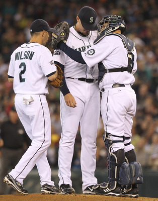 Blake Beavan pitched well against his former club, making only one mistake, but it proved to be one mistake too many.