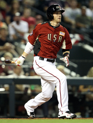 PHOENIX, AZ - JULY 10:  U.S. Futures All-Star Bryce Harper #34 of the Washington Nationals at bat in the 2011 XM All-Star Futures Game at Chase Field on July 10, 2011 in Phoenix, Arizona.  (Photo by Christian Petersen/Getty Images)