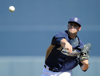 PEORIA, AZ - MARCH 02:  Casey Kelly #78 of the San Diego Padres pitches against the Colorado Rockies during spring training at Peoria Stadium on March 2, 2011 in Peoria, Arizona.  (Photo by Harry How/Getty Images)