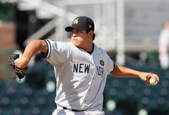 The Yankees are not excited to trade 20-year-old prospect Manny Banuelos. I wouldnt be either.