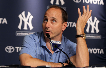 Brian Cashman has taken heat in the past for mortgaging the Yankees farm system to buy players. Will history repeat itself?